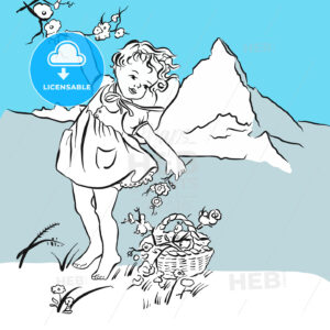 Pick flowers on the Matterhorn - Hebstreits