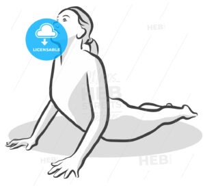 Cobra Bhujangasana Yoga Pose - Hebstreits