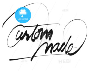 Custom Made Title – Hand Lettering - Hebstreits
