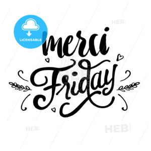 Merci Friday - Hebstreits