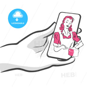 Mobile Food Delivery Service app, Concept Artwork - Hebstreits