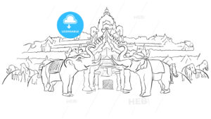 Phuket Fantasea Palace Theatre with Elephants - Hebstreits