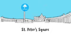 St Peter Square Vatican City - Hebstreits