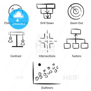 Storytelling with Data Concept Workflow Design - Hebstreits