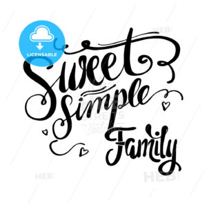 Sweet Simple Family - Hebstreits