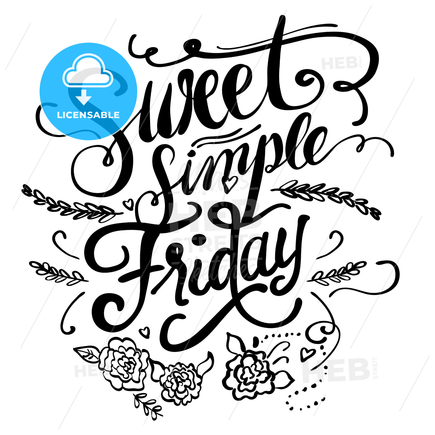 Sweet Simple Friday - Hebstreits