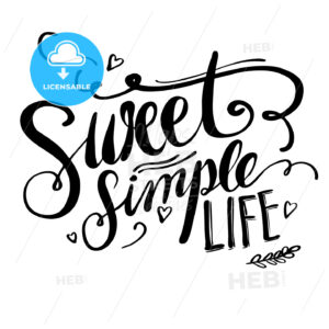 Sweet Simple Life - Hebstreits