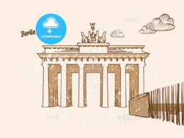 Berlin, Germany, Greeting Card