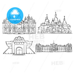 Kyiv, Ukraine, Famous Buildings