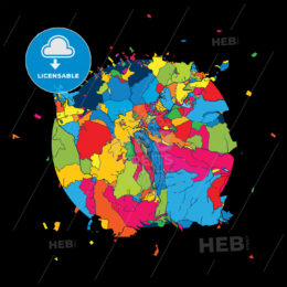San Marino, Colorful Artmap