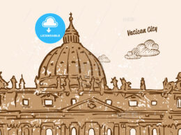 Vatican City Greeting Card