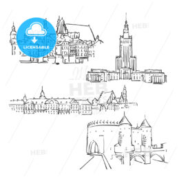 Warsaw, Poland, Famous Buildings