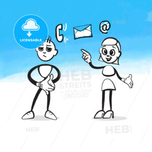 Stickman Consulting Concept - HEBSTREITS
