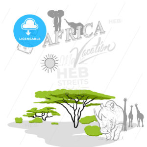 Africa travel marketing cover - HEBSTREITS