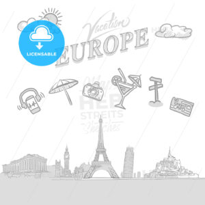Europe travel marketing cover - HEBSTREITS