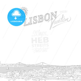 Lisbon travel marketing cover