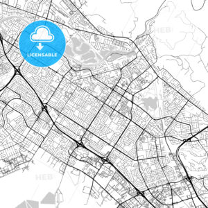 Map of Fremont, California - HEBSTREITS