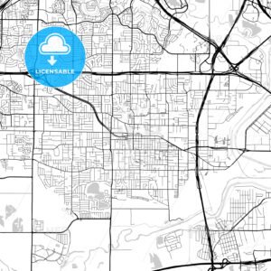 Map of Irving, Texas - HEBSTREITS