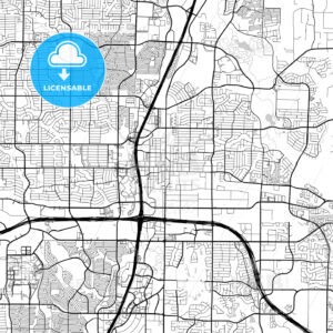 Map of Plano, Texas - HEBSTREITS