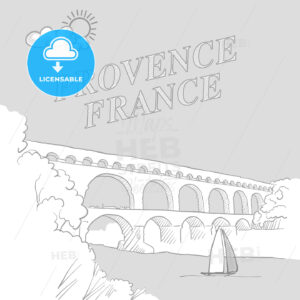 Provence, France travel marketing cover - HEBSTREITS