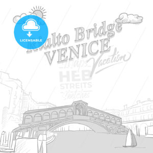 Rialto bridge travel marketing cover - HEBSTREITS