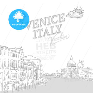 Venice travel marketing cover - HEBSTREITS