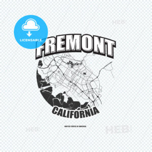 Fremont, California, logo artwork - HEBSTREITS
