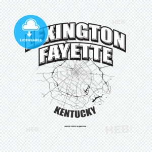 Lexington, Kentucky, logo artwork - HEBSTREITS