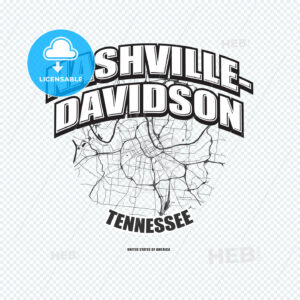 Nashville, Tennessee, logo artwork - HEBSTREITS