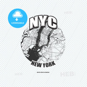 New York City, New York, logo artwork - HEBSTREITS