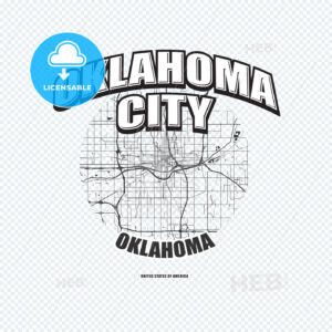 Oklahoma City, Oklahoma, logo artwork - HEBSTREITS