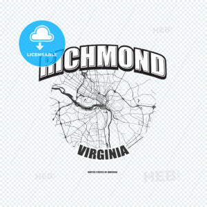 Richmond, Virginia, logo artwork - HEBSTREITS