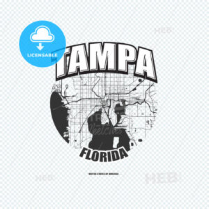 Tampa, Florida, logo artwork - HEBSTREITS