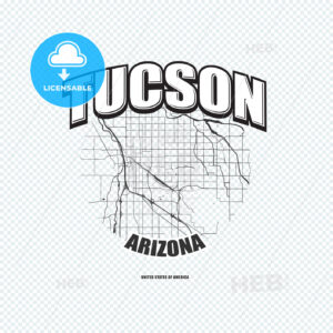 Tucson, Arizona, logo artwork - HEBSTREITS