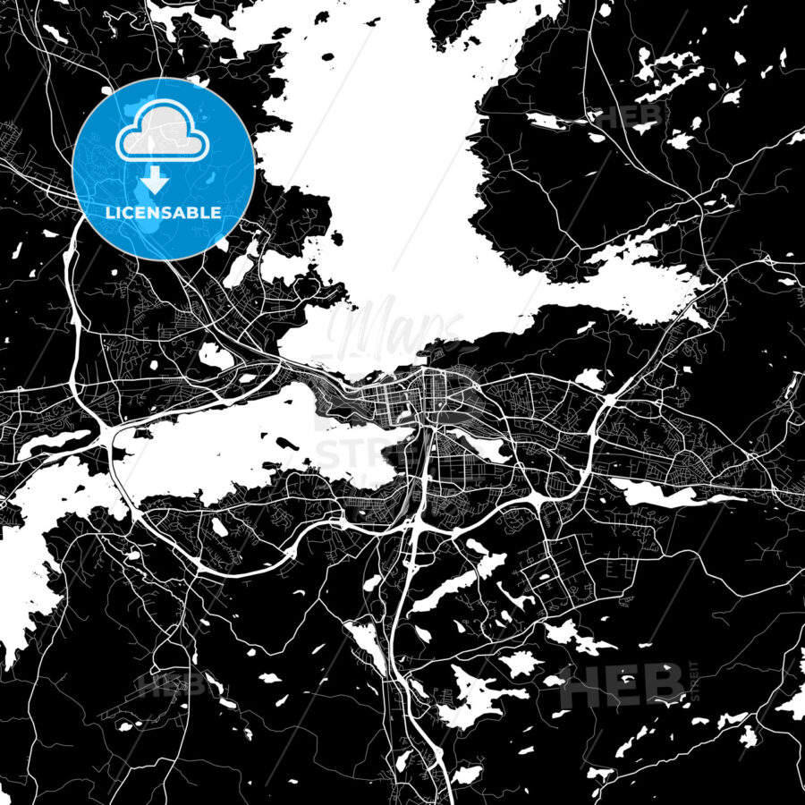 tampere finland map