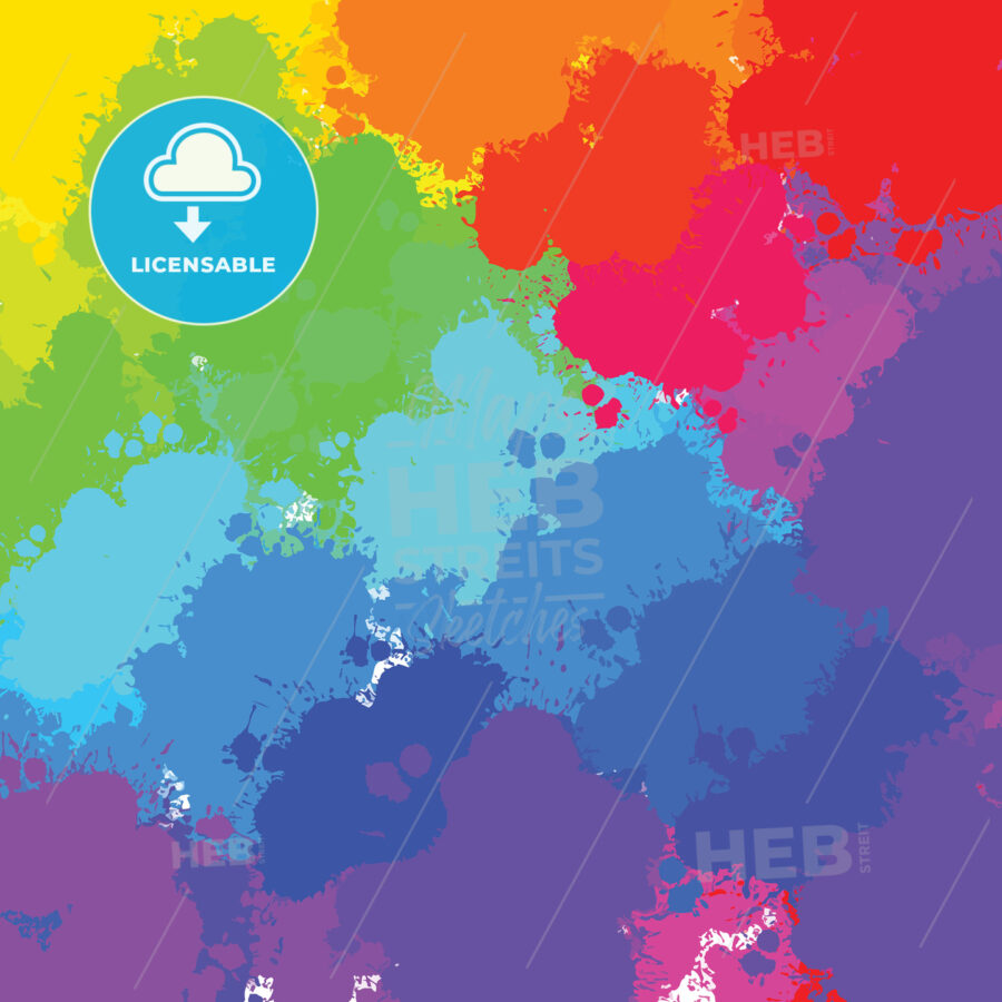 colorful splashes background - HEBSTREITS