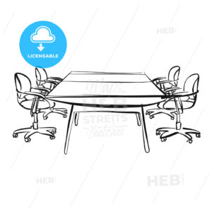 meeting room desk - HEBSTREITS