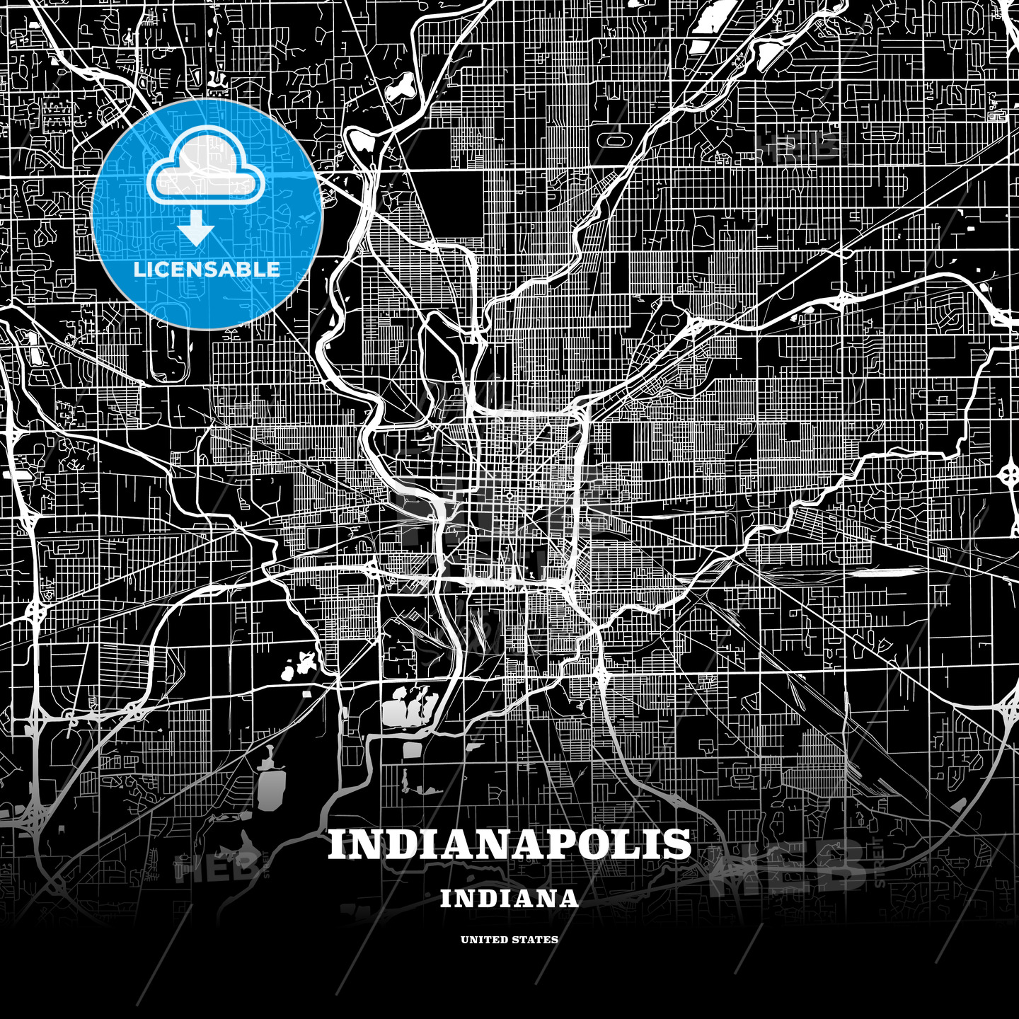 Black map poster template of Indianapolis, Indiana, USA on indianapolis crime map, indianapolis mall, indianapolis township map, indianapolis road map, indianapolis city streets, indianapolis on map, indianapolis central library, indianapolis water park, indianapolis county map, indianapolis street map, indianapolis news anchors, indianapolis school buses, indianapolis indiana, indianapolis white river state park, indianapolis ghetto, indianapolis warren central high school, indiana location in the usa, indianapolis train station,