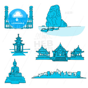 Thailand famous landmarks - HEBSTREITS