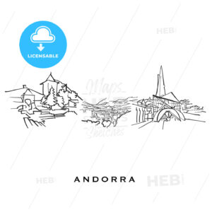 Andorra famous architecture - HEBSTREITS