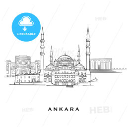 Ankara Turkey famous architecture