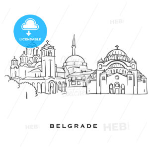 Belgrade Serbia famous architecture - HEBSTREITS