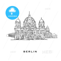 Berlin Germany famous architecture
