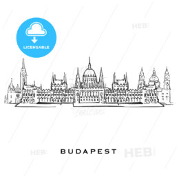 Budapest Hungary famous architecture