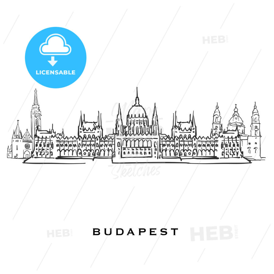 Budapest Hungary famous architecture - HEBSTREITS