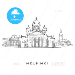 Helsinki Finland famous architecture