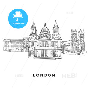 London United Kingdom famous architecture - HEBSTREITS