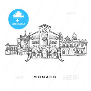 Monaco famous architecture - HEBSTREITS