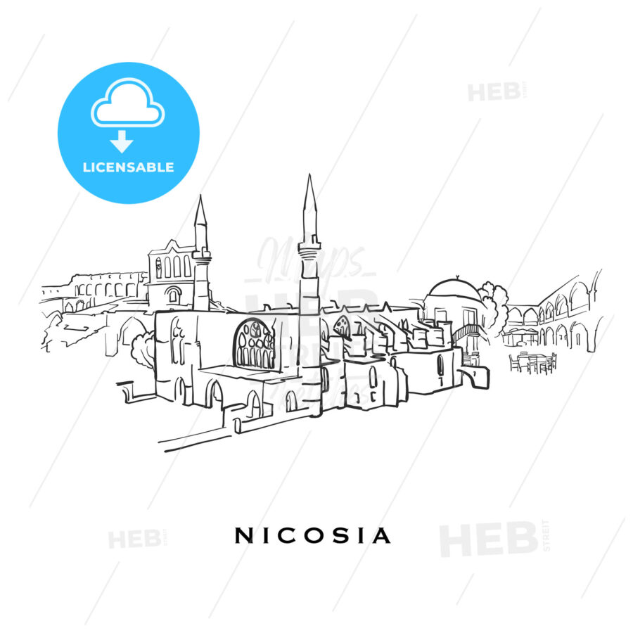 Nicosia Cyprus famous architecture - HEBSTREITS