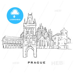 Prague Czech Republic famous architecture